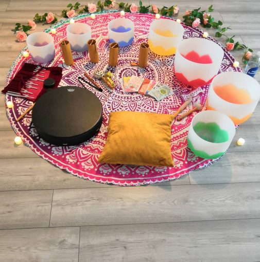 Sound healing in South London